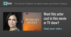 Famke Janssen as Julie Garland in Worlds Apart? Support this movie proposal or make your own on The IF List.