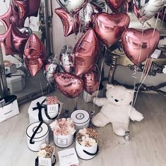 Image about girl in Palloncini🎈Balloons by Little_Princess Birthday Goals, 20th Birthday, Birthday Wishes, Girl Birthday, Birthday Parties, Birthday Surprise Boyfriend, Surprise Birthday, Festa Party, Party Party