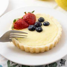 Easy Gluten Free Lemon Cheesecake Tarts