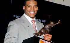 Cam Newton - Talent! And he's gorgeous!