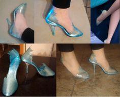 "Frozen Elsa shoes by Yurai I need them ""ASAP""!!!❄❄❄❄❄"