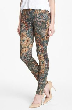 7 For All Mankind® 'The Skinny' Print Skinny Jeans (Digital Tapestry) | Nordstrom