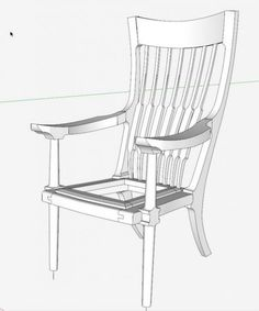 Seat Frame for a Maloof Occasional Chair - Fine Woodworking