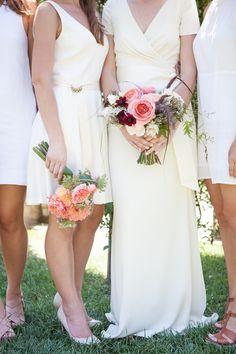 Photography: Buena Lane Photography - www.buenalane.com  Read More: http://www.stylemepretty.com/california-weddings/2014/10/20/impromptu-wedding-planned-in-three-weeks/