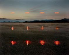 Barry Underwood builds on-site installations to create stunning photographs.