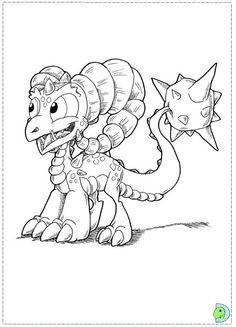 Terrafin Skylander Coloring Page