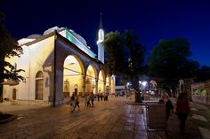 Sarajevo by Merlindino, via Flickr  Bosnia and Herzegovina..