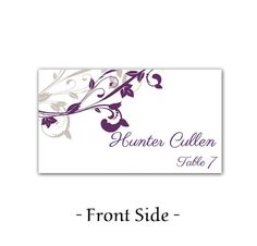 wedding placecard template
