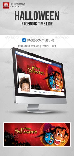 Halloween Facebook timeline page   #GraphicRiver         Halloween Facebook timeline page    In this Halloween with this exclusive design you can make your Facebook page more happening!    The following fonts are used in the design.    Chiller : fontzone /font-details/chiller    Size and format of facebook timeline    Dimension: 851×315 px Resolution: 72 dpi File type: RGB Software: Photoshop cs6      Created: 19October13 GraphicsFilesIncluded: PhotoshopPSD HighResolution: No Layered…