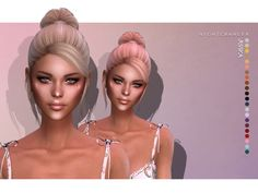 Nightcrawler-Jessica (HAIR) | Madame Sims 4 The Sims 4 Cabelos, Sims Community, Sims Resource, Sims 4 Mods, Electronic Art, New Hair, Short Hair Styles, Female Hairstyles, Bob Styles