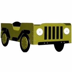 With the Military Toddler Bed waiting for him your little soldier won't mind the order to march straight to bed so much. This toddler bed hand-painted in either camo green or camo pink is anything but standard issue! A standard-sized crib mattress (not included) fits this little soldier's bed which is hand-crafted from imported laminated Baltic Birch to make it last a lifetime. This toddler bed can easily support up to 50 pounds and is recommende