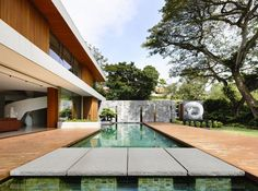 65BTP-House – Modern Residence in Singapore by ONG&ONG Architects