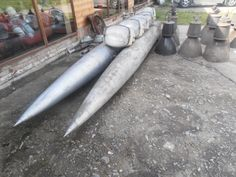 All. tanks from a russian MIG,4,5 meter long. Great for a lamp or decoration. More than 30 pieces on stock 250 euro a piece