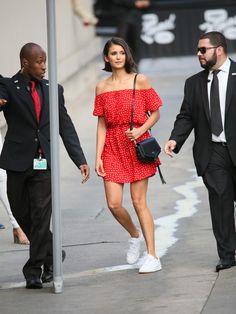 Nina Dobrev Photos - Nina Dobrev is seen at 'Jimmy Kimmel Live' on September 14, 2017. - Nina Dobrev at 'Jimmy Kimmel Live'