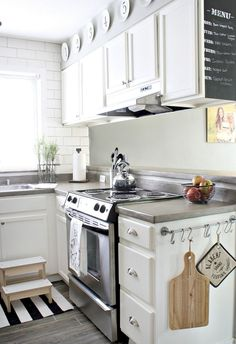 Small Modern Farmhouse Kitchen