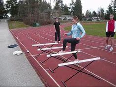 hurdle drills! you wont be sorry