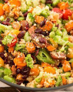 23. Vegetarian Quinoa Skillet #beginner #dinner #recipes http://greatist.com/eat/healthy-dinner-recipes-for-beginners
