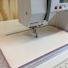 A Supreme Slider is a special Teflon sheet designed to make your quilt easier and faster move smoothly while free motion quilting on your home sewing machine.