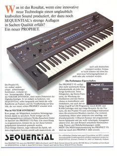 MATRIXSYNTH: 1986 German Sequential Circuits Prophet VS Ad