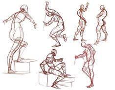 100 How To Draw Tutorials - Gesture Drawing - Eyes, Hair, Face, Lips, People, Animals, Hands - Step by Step Drawing Tutorial for Beginners - Free Easy Lessons Gesture Drawing, Anatomy Drawing, Guy Drawing, Drawing Skills, Drawing Poses, Drawing People, Life Drawing, Figure Drawing Tutorial, Flower Drawing Tutorials