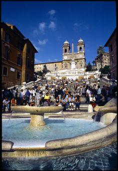 De Spaanse Trappen in Rome: dé ontmoetingsplek van de Eeuwige Stad