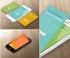 Phone App Showcase Mockups Phone App Showcase Mockups