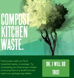 Compost your kitchen waste ow.ly/albdk