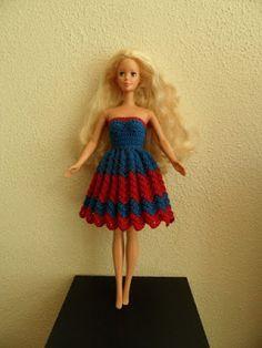 Barbie, Haken, gratis patroon