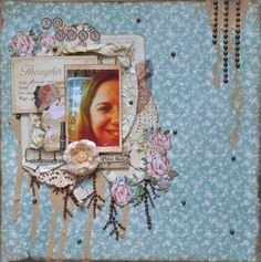 So Many Thoughts-Scrap That! September Kit, Victorian Dream