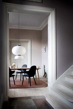 Violetttöne www.meinewand.de #wandfarbe #streichen