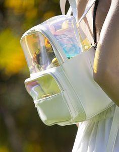 Mochila transparente rutilante | BEACHWEAR | SHOP ONLINE BLANCO.COM