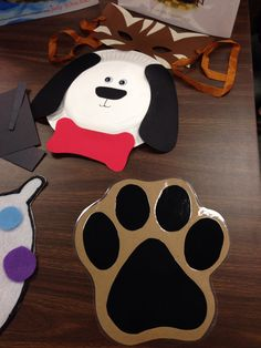 Sheryl's crafts from our Meeting with Tehama & Colusa County Libraries.