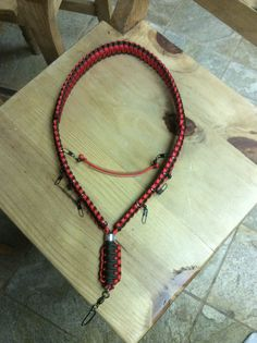 Hand Made Fly Fishing Lanyard. Made by Drakes Lanyards in Las Vegas, Nevada. Check em out on Facebook.