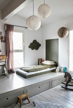 30 Ideen für Kinderzimmergestaltung - ergonomische Gemütlichkeit