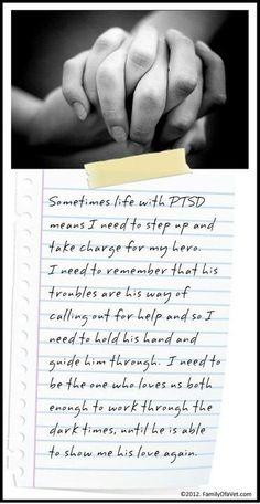 PTSD...awareness and understanding matter...