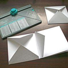 Envelope album using the We R Memory Keepers envelope board