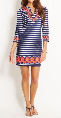 Vineyard Vines Tunic if this was a little longer it be perfection! !