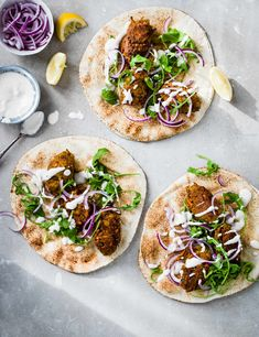 Vegetable Kofta Recipe with Tahini Yogurt Sauce Check out these spiced veggie koftes with chickpeas. These low calorie koftes are served with a nutty tahini yogurt sauce and come in under 415 calories per serving