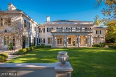 Washington, D.C.: $22 Million - These Are The Most Expensive Homes For Sale In Every Southern State - Southernliving. One of Washington, D.C.'s most extravagant homes, this 2016 mansion designed by Jones/Boer Architects is 14,774 square feet of pure modern bliss. With an incredible marble kitchen, ornate fireplaces, and balconies galore, this house is the definition of luxury. The 8-bedroom, 10-full bathroom (and 3 half bath!) estate can be found at 3030 Chain Bridge Road.