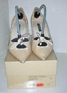 Kaufe meinen Artikel bei #Kleiderkreisel http://www.kleiderkreisel.de/damenschuhe/hohe-schuhe/69597130-designer-spitzenpumps-von-sergio-rosso