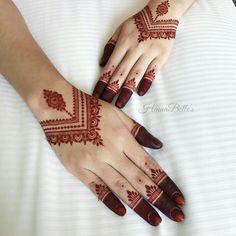 Simple Mehndi Designs Fingers, Finger Henna Designs, Back Hand Mehndi Designs, Mehndi Designs 2018, Modern Mehndi Designs, Mehndi Design Photos, Mehndi Designs For Hands, Finger Mehndi Style, Art Designs