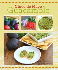 Fresh and Easy Cinco de Mayo Guacamole Recipe
