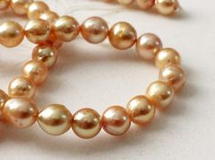 South Sea Pearls Cultured Natural Pearls Original by gemsforjewels