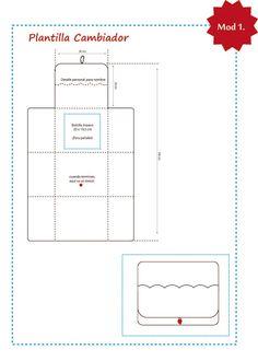 Tresp craft blog tutorial como hacer un cambiador plegable para beb patch bebes pinterest - Cambiador de bb ...