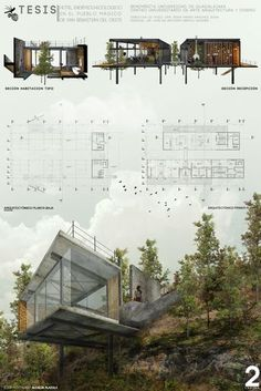 Die 15 besten Karriereende-Projekte in Mexiko, Hotel Endemic-Ecological . Architecture Panel, Architecture Graphics, Concept Architecture, Landscape Architecture, Interior Architecture, Building Architecture, Presentation Board Design, Architecture Presentation Board, Architectural Presentation