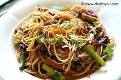 hakka noodles.. Super healthy and tasty!