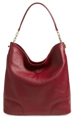 Tory Burch Leather Hobo (Nordstrom Exclusive)