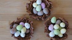 Mini Easter egg nests