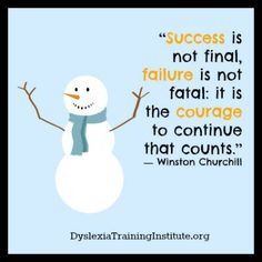 Failure is not fatal!