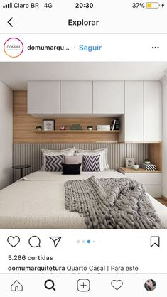 50 wonderful cozy bedroom storage ideas for small space ideas – Artofit Interior Design Bedroom, Bedroom Decor, Small Room Bedroom, Bedroom Interior, Home, Bedroom Cupboards, Apartment Design, Small Bedroom, Home Bedroom